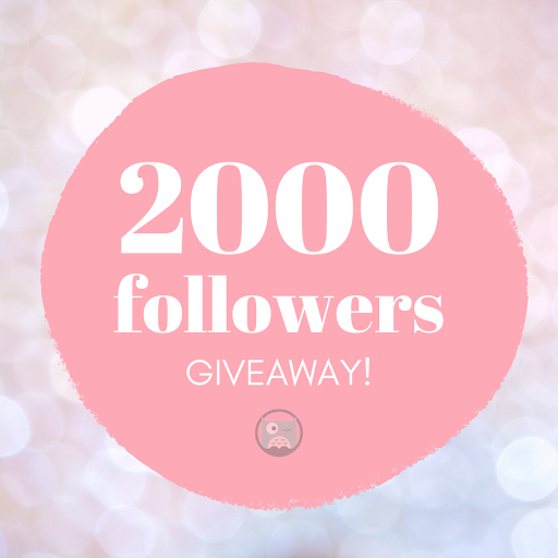 2K followers! Celebratory GIVEAWAY competition