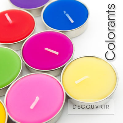 Colorants de Bougies
