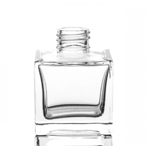 Glass Container - 100ml Diffuser Cube