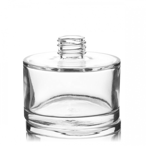 Glass Container - 200ml Squat Cylindrical Diffuser Bottle
