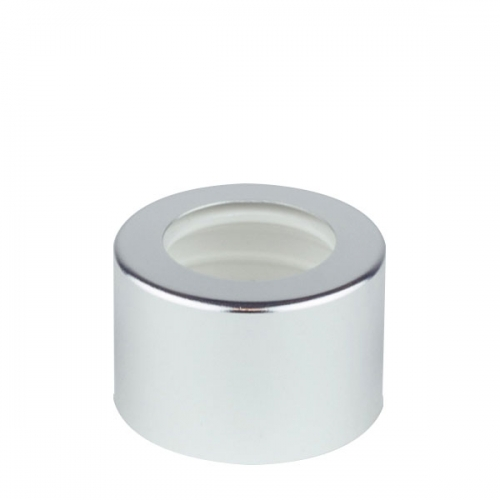 Metal Shelled Diffuser Cap - Gloss Silver